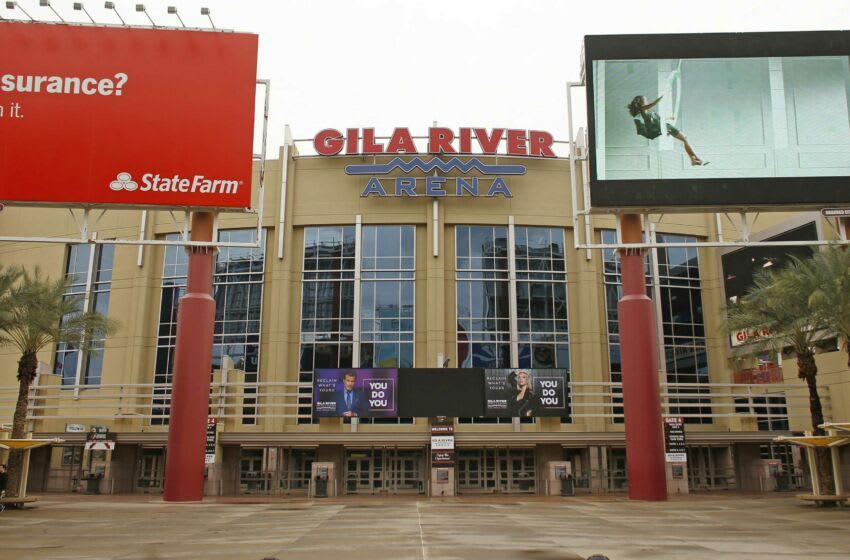 Coyotes Gila River Arena in Glendale. (Syndication: Arizona Republic)