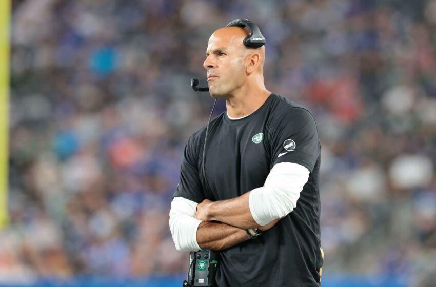 Jets head coach Robert Saleh.  (Vincent Carchietta-USA TODAY Sports