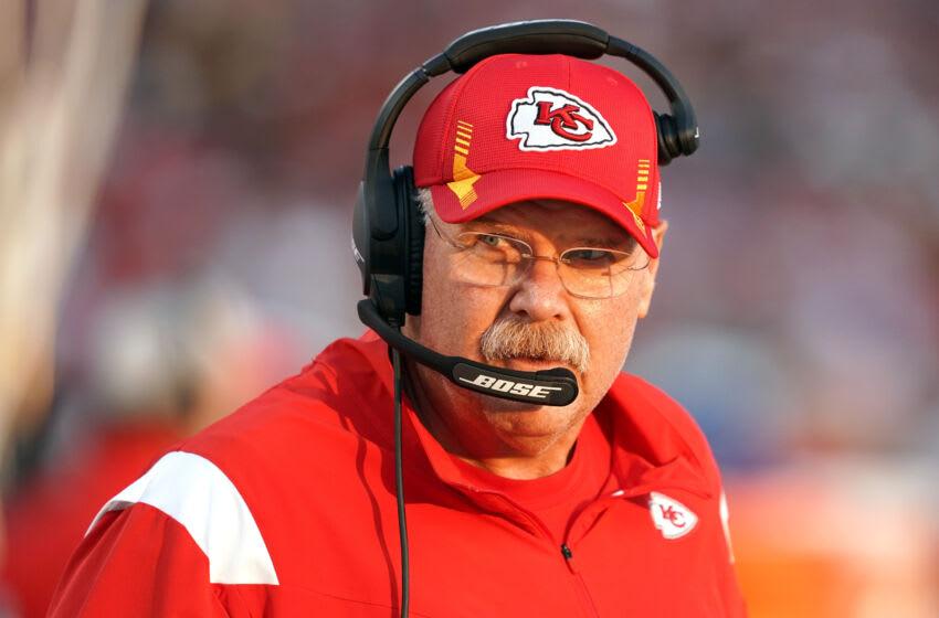 Andy Reid, Kansas City Chiefs. (Mandatory Credit: Darren Yamashita-USA TODAY Sports)
