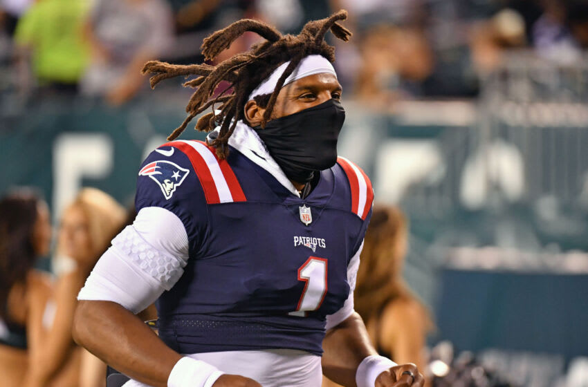Cam Newton, New England Patriots.  (Mandatory credit: Eric Hartline-USA TODAY Sports)