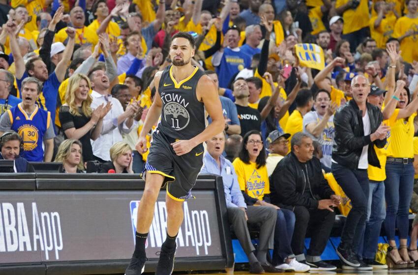 Klay Thompson, Golden State Warriors Mandatory Credit: Kyle Terada-USA TODAY Sports