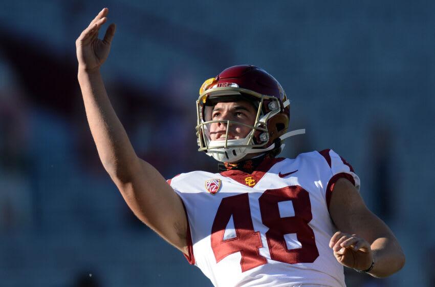 Parker Lewis, USC Trojans. (Mandatory Credit: Joe Camporeale-USA TODAY Sports)