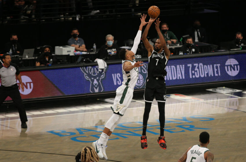 Kevin Durant, LeBron James, MVP Mandatory Credit: Brad Penner-USA TODAY Sports