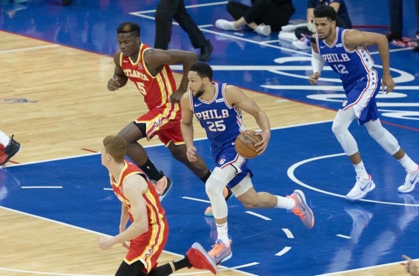 Ben Simmons, Philadelphia 76ers Mandatory Credit: Bill Streicher-USA TODAY Sports