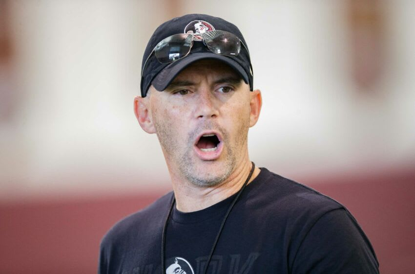 Florida State football head coach Mike Norvel. (Syndication: Tallahassee Democrat)
