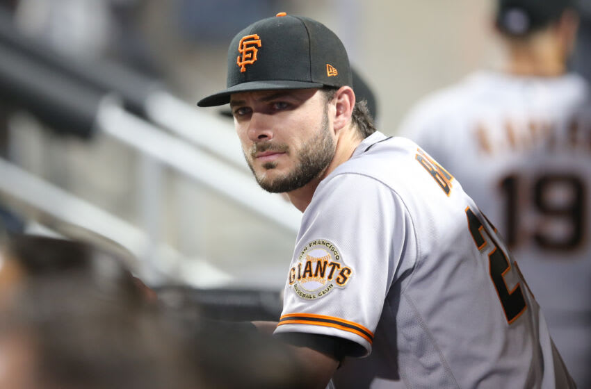 San Francisco Giants outfielder Kris Bryant. (Brad Penner-USA TODAY Sports)