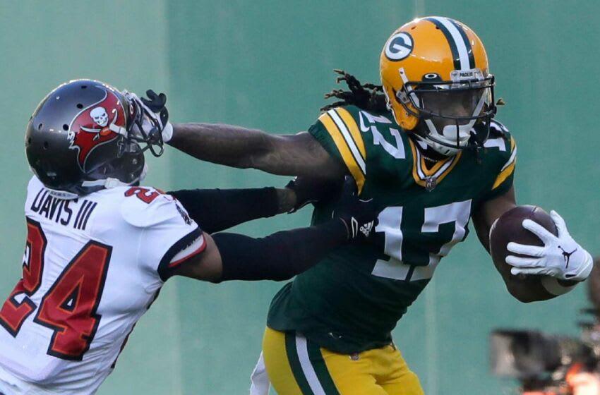 Green Bay Packers wide receiver Davante Adams. (Syndication: PackersNews)