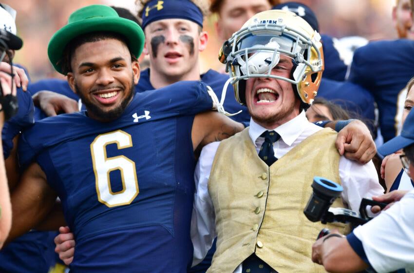 Clarence Lewis, Notre Dame Fighting Irish. (Mandatory Credit: Matt Cashore-USA TODAY Sports)