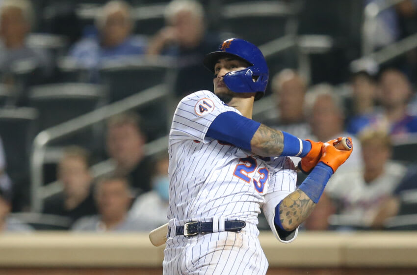 Javy Baez, New York Mets, Puerto Rico, cancer Mandatory Credit: Brad Penner-USA TODAY Sports