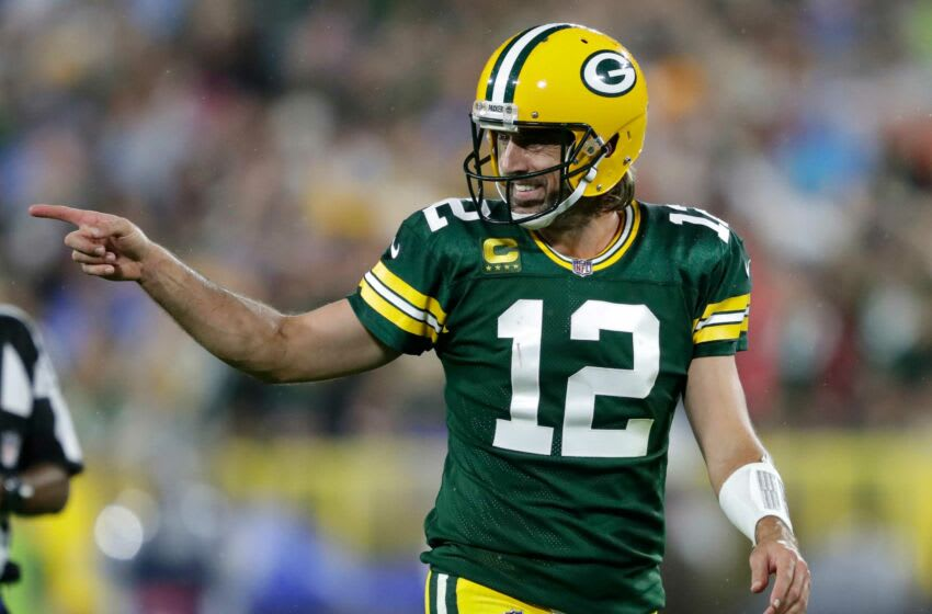 Aaron Rodgers, Green Bay Packers. (Dan Powers/USA TODAY NETWORK-Wisconsin)