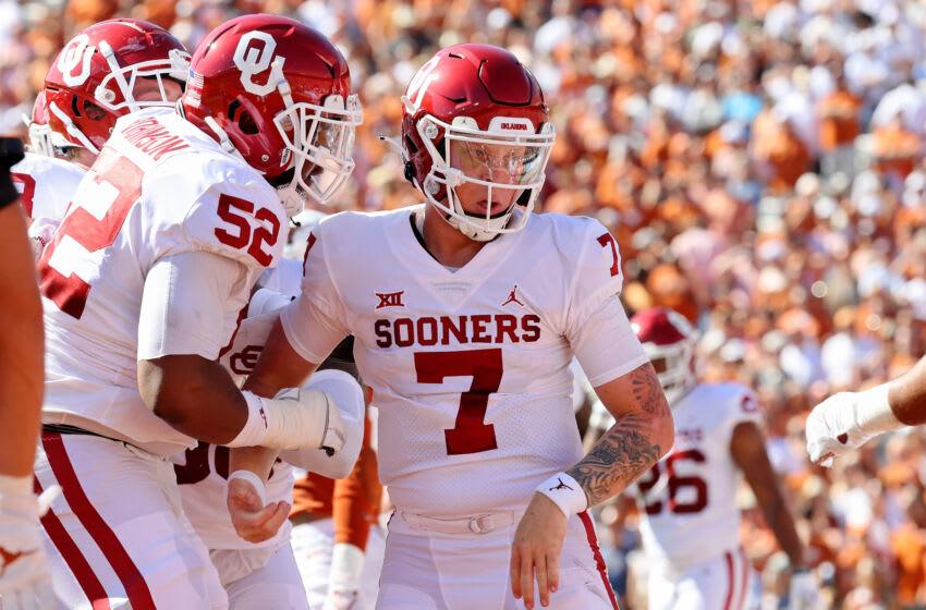 Oklahoma Sooners quarterback Spencer Rattler. (Kevin Jairaj-USA TODAY Sports)