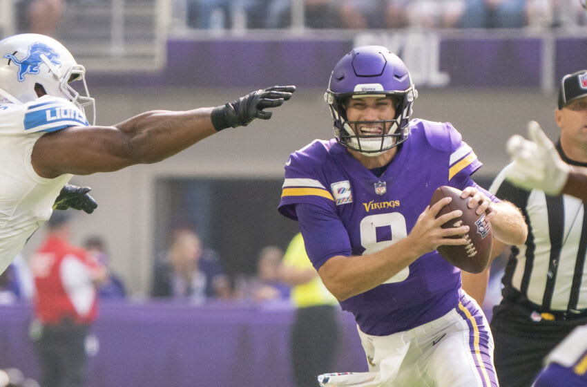 Kirk Cousins, Minnesota Vikings. (Mandatory Credit: Matt Blewett-USA TODAY Sports)