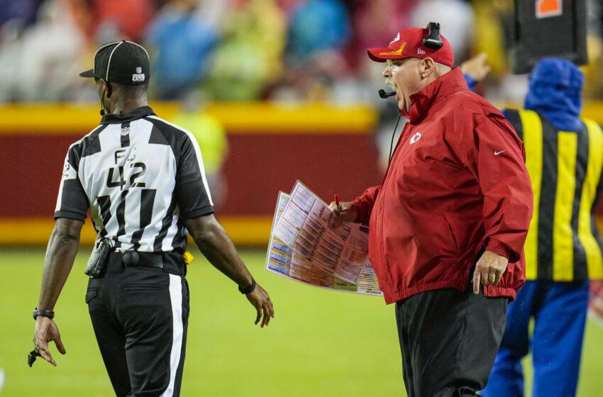 Kansas City Chiefs head coach Andy Reid. (Jay Biggerstaff-USA TODAY Sports)