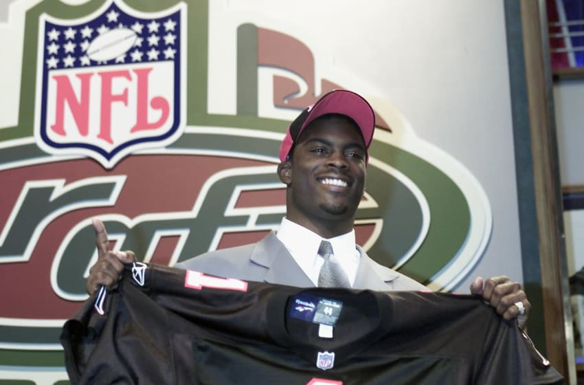 Michael Vick was the top pick by the Atlanta Falcons and the
