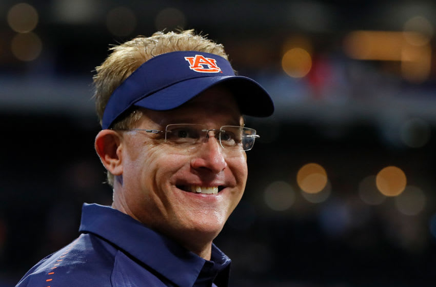 Head coach of the Auburn Tigers Gus Malzahn (Photo by Kevin C. Cox/Getty Images)