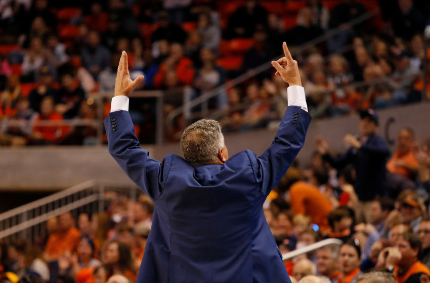 Head coach Bruce Pearl of the Auburn Tigers. (Photo by Kevin C. Cox/Getty Images)