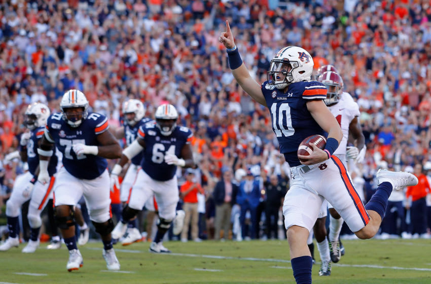 Bo Nix #10 of the Auburn Tigers(Photo by Kevin C. Cox/Getty Images)