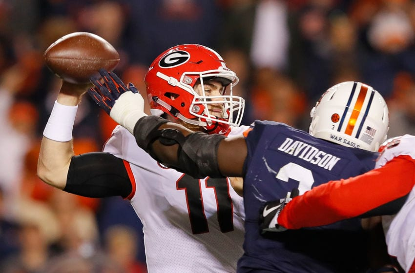 Marlon Davidson returns to an Auburn defense that ranked 14th in total defense in 2017. (Photo by Kevin C. Cox/Getty Images)