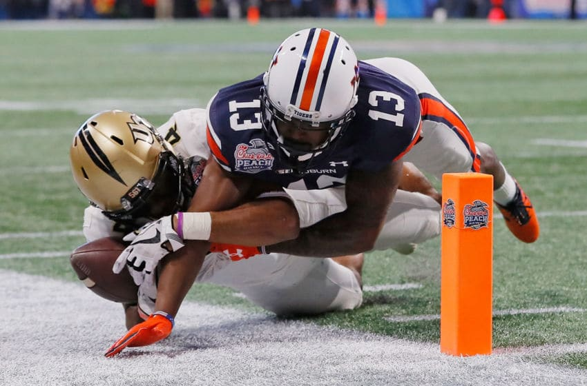 Javaris Davis returns as a leader in the Auburn secondary. (Photo by Kevin C. Cox/Getty Images)