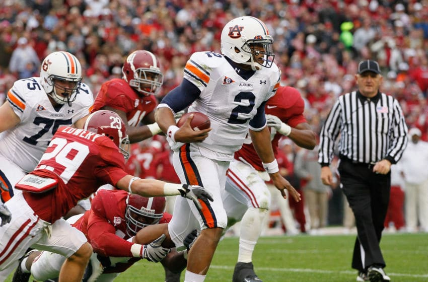 Quarterback Cam Newton #2 of the Auburn Tigers (Photo by Kevin C. Cox/Getty Images)