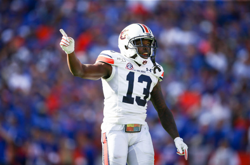 Javaris Davis #13 of the Auburn Tigers (Photo by James Gilbert/Getty Images)