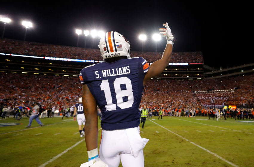 Seth Williams #18 of the Auburn Tigers (Photo by Kevin C. Cox/Getty Images)