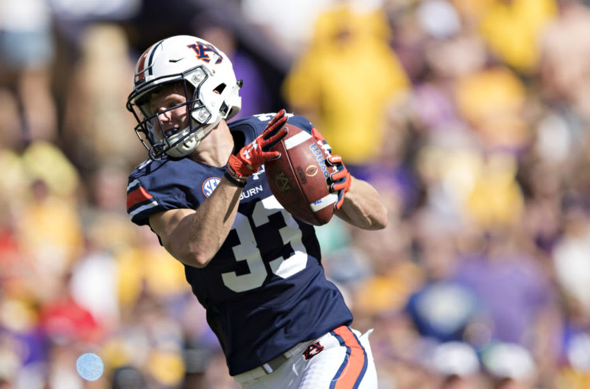 Will Hastings #33 of the Auburn Tigers (Photo by Wesley Hitt/Getty Images)