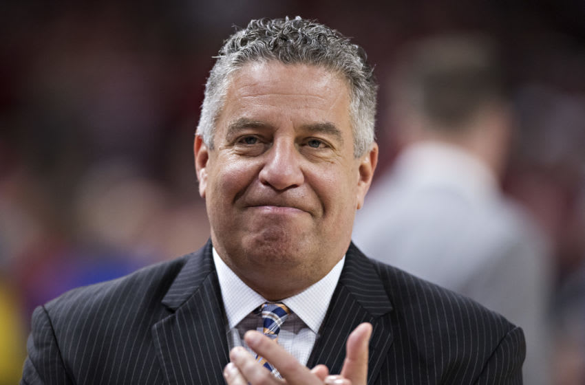 Head Coach Bruce Pearl of the Auburn Tigers (Photo by Wesley Hitt/Getty Images)
