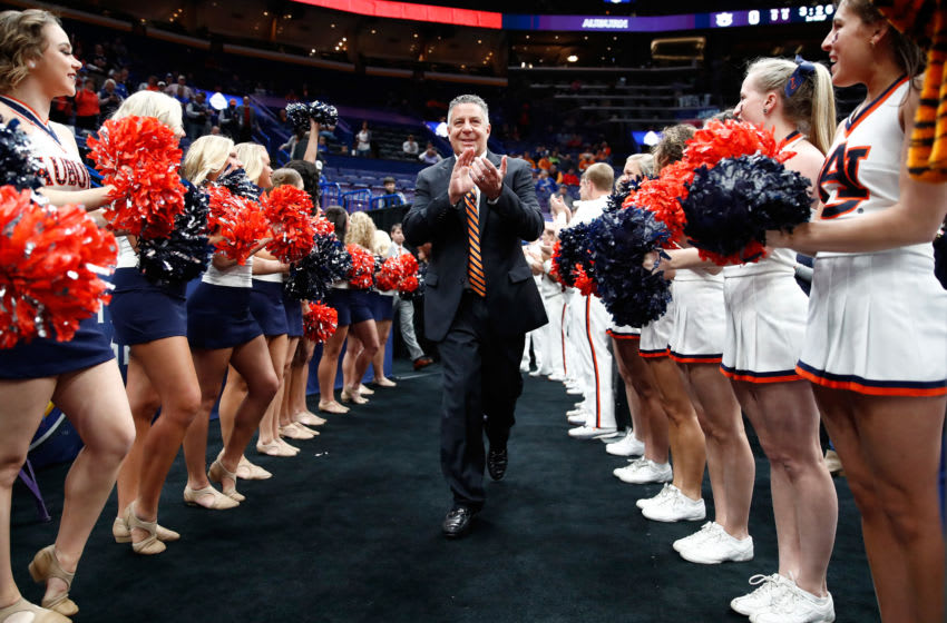 Head coach Bruce Pearl of Auburn Tigers (Photo by Andy Lyons/Getty Images)