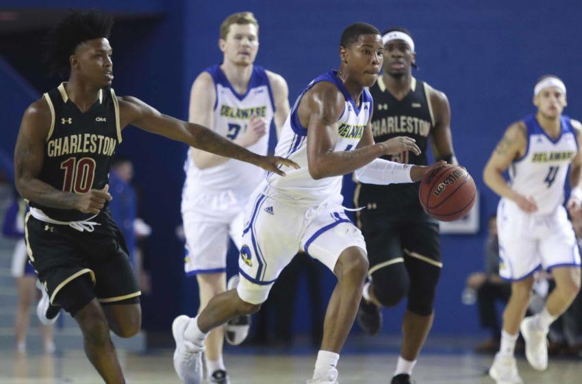 Auburn basketball target Zep Jasper at the Bob Carpenter Center Thursday.Ud V Charleston