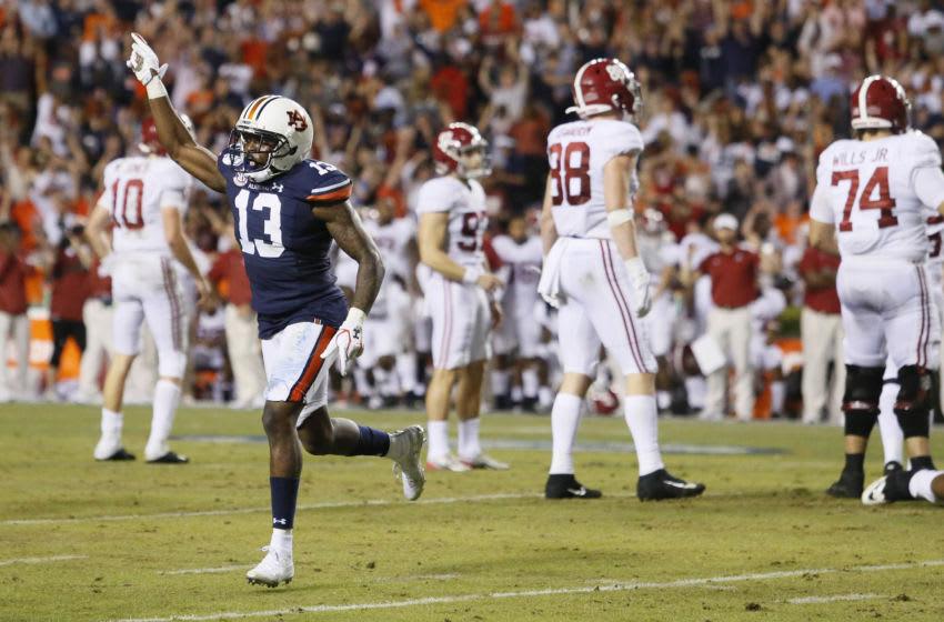 Auburn football Mandatory Credit: John Reed-USA TODAY Sports