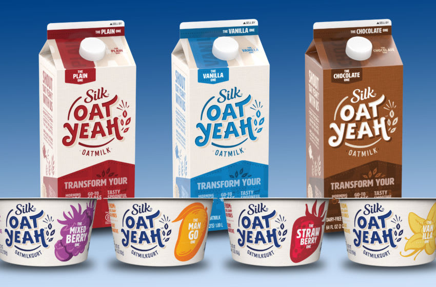 Silk Oat Yeah oatmilk products go beyond the beverage aisle, photo provided by Silk