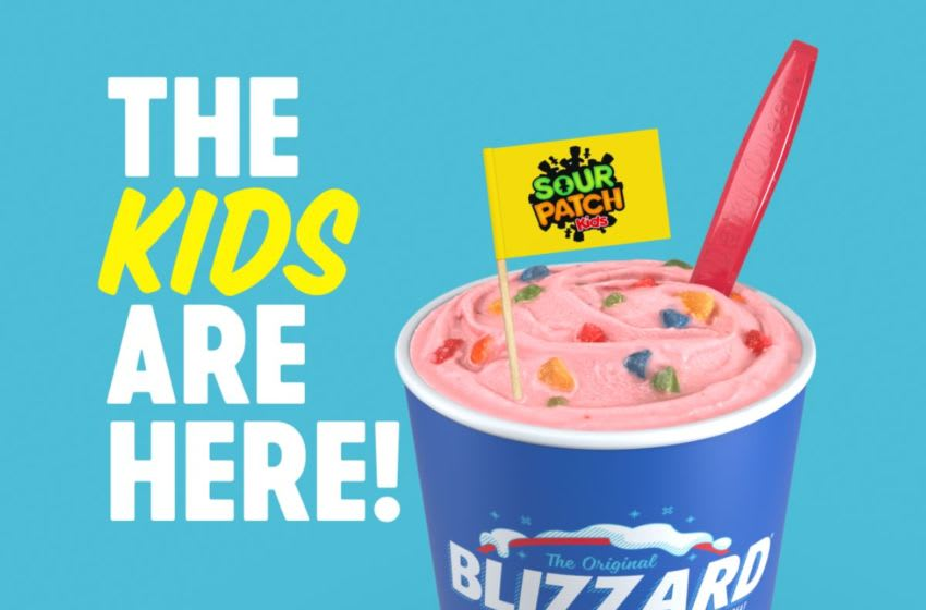 Got pucker? Sour Patch Kids Blizzard has come to Dairy Queen, photo provided by Dairy Queen
