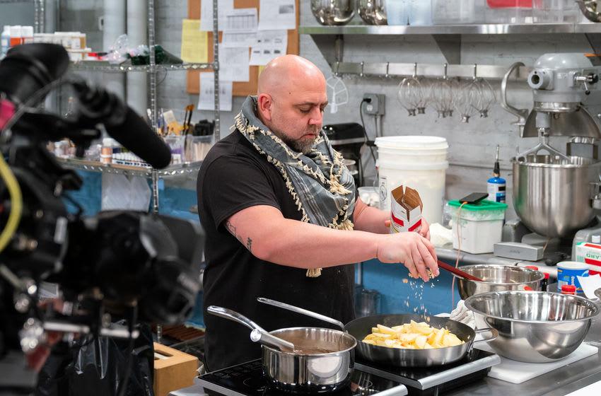 Duff Goldman, as seen on Buddy vs Duff, Season 2. Photo Courtesy Food Network