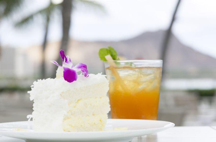Halekulani heavenly Coconut Cake Recipe. Photo provided by Halekulani