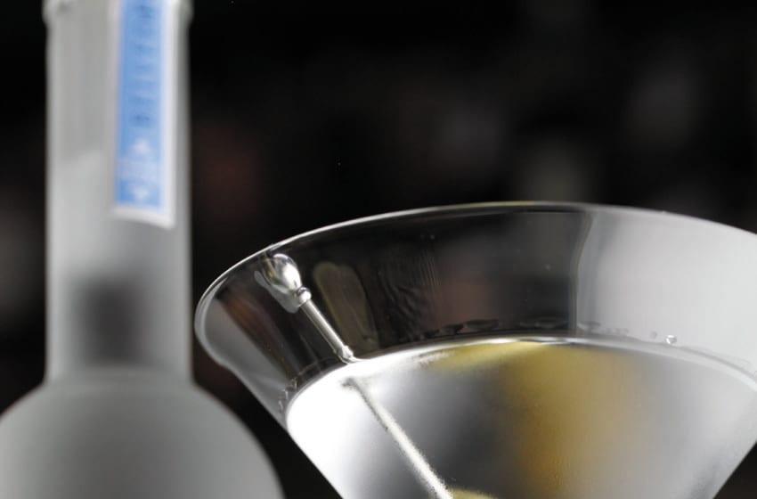 Martha Martini, Belvedere's Classic Martini. Photo Courtesy Belvedere Vodka