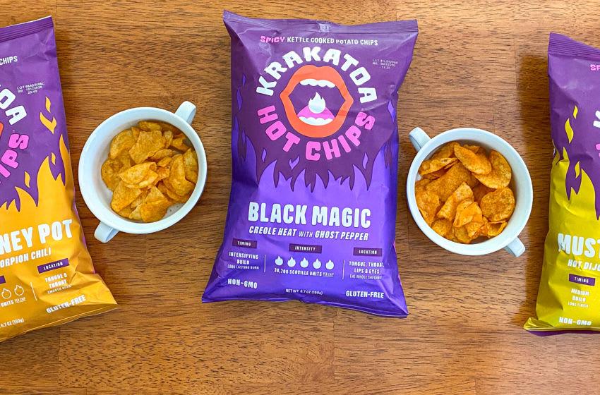 Krakatoa Hot Chips, photo by Cristine Struble