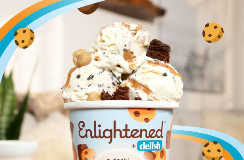 Enlightened Teams Up with Delish to Launch New Keto Collection Flavor. Photo provided by Enlightened