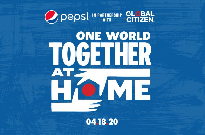 Pepsi X One World Together At Home. Photo provided by Pepsi