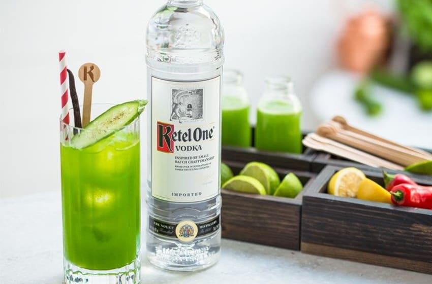 Ketel One Green Mary, photo provided by Ketel One