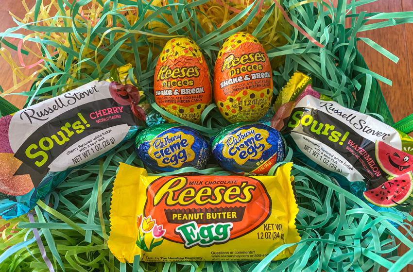 Easter egg candy. Photo by Cristine Struble
