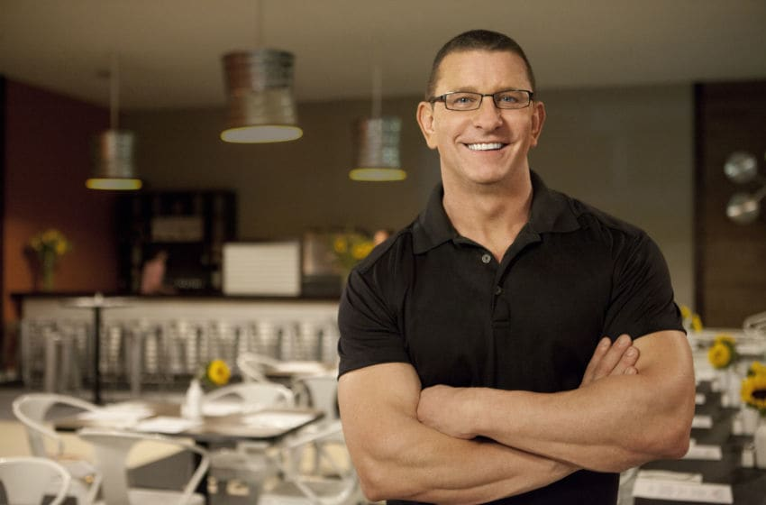 Robert Irvine on the new season of Restaurant Impossible, photo provided by Food Network