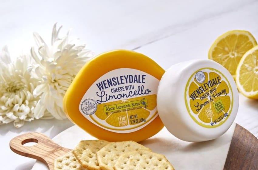 Emporium Selection Lemon Wensleydale Cheese Assortment, photo provided by Aldi