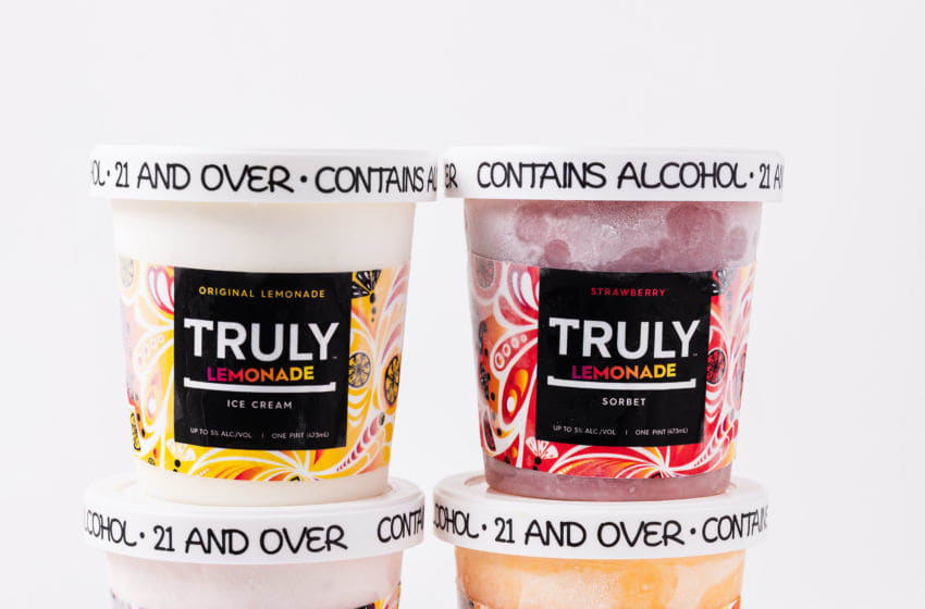 Truly Hard Seltzer partnered with Tipsy Scoop, photo provided by Truly