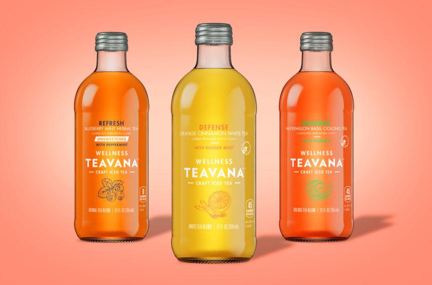 New Teavana Summer Teas, photo provided by Teavana