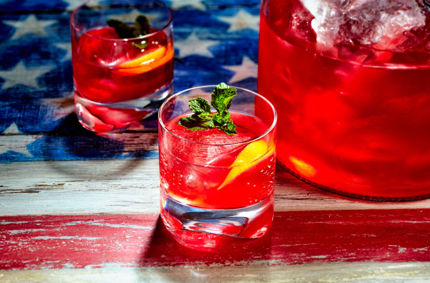 Red Rum Punch, photo provided by Bacardi