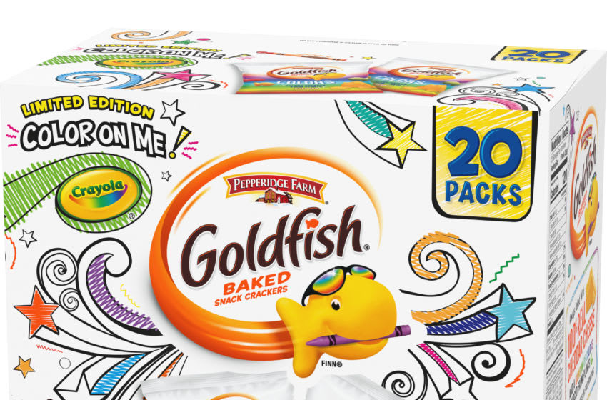 Goldfish Colors Limited edition, photo provided by Goldfish