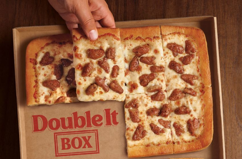 New Pizza Hut Double It Box, photo provided by Pizza Hut