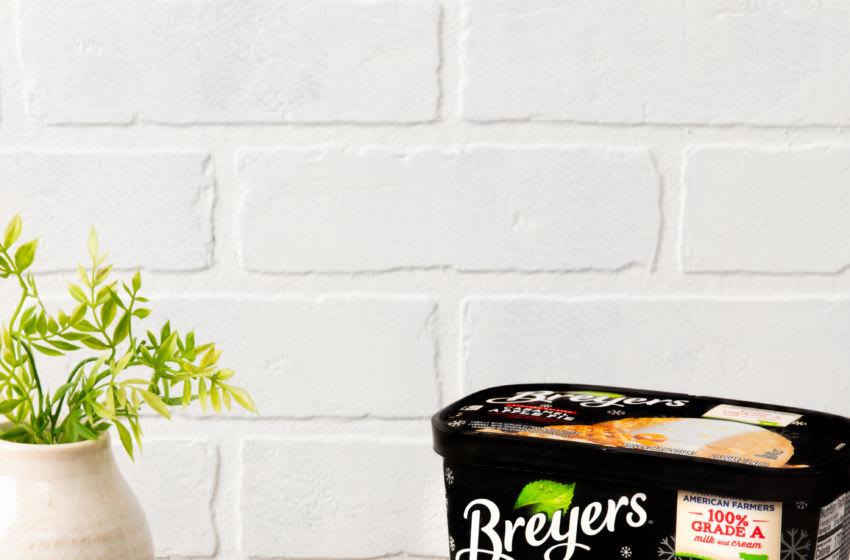 Breyers Caramel Apple Pie Layered Desserts , photo provided by Breyers