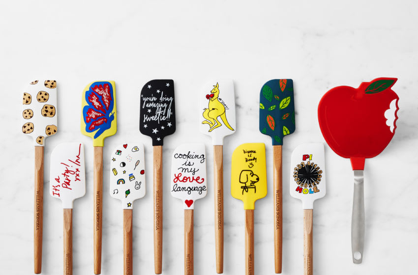 Williams Sonoma and No Kid Hungry Tools for Change Spatulas 2020, photo provided by Williams Sonoma